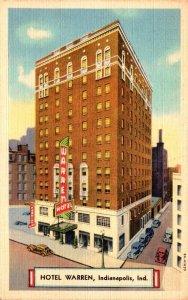 Indiana Indianapolis Hotel Warren Curteich
