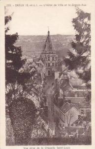 L'Hotel De Ville Et La Grande-Rue, Dreux (Eure et Loir), France, 1910-1920s