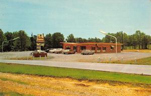 Hardin Kentucky Holiday Restaurant Street View Vintage Postcard K38277