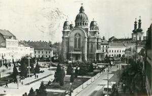 Romania Targu Mures cathedral