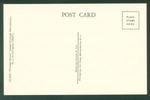 Phoebe Snow Delaware Lackawanna Western Morristown New Jersey Railroad Postcard