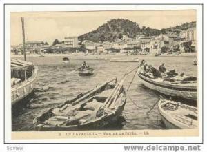 LE LAVANDOU, France, 00-10s   Vue de la Jetee