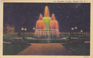 Fountain Of Light Atlantic City New Jersey