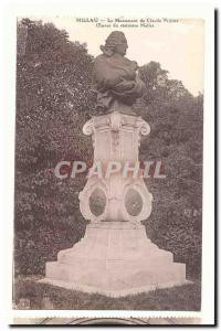Millau Old Postcard Monument Claude Peyrot Work of statuary Mallet
