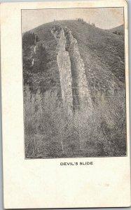 The Devil's Slide Vintage Postcard A34