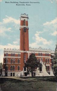 Tennessee Nashville Maine Building Vanderbilt University 1912