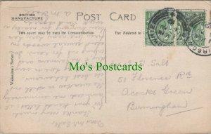 Genealogy Postcard - Kitchin? / Sast - 51 Florence Road, Birmingham RF8033