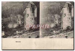 Stereoscopic Card - Gavarnie - Old Postcard