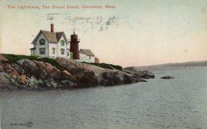 GLOUCESTER , Massachusetts , 1910 ; Ten Pond Island LIGHTHOUSE