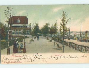 1903 postcard BELLE VUE Rotterdam Netherlands F5153