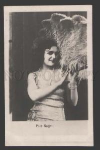 112703 Pola NEGRI Famous Polish MOVIE Actress Vintage PHOTO