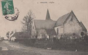 Serques L'Eglise Antique French Postcard