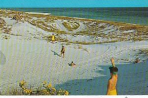 Florida Gulf Shores View Along Gulf Of Mexico