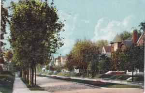 INDIANAPOLIS, Indiana; Morton Place, PU-1909
