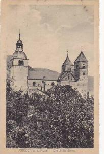Carden on the Mosel. , Germany, 00-10s ; Die Stifskirche