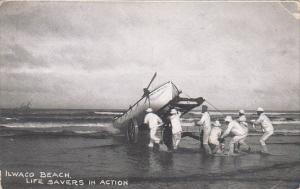 Washington Ilwaco Beach Life Savers In Action