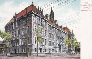 Pennsylvania Scranton High School 1910