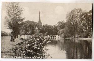 UK - England. Stratford-Upon-Avon Church