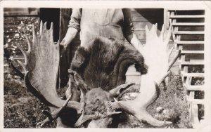RP; PRINCE GEORGE, British Columbia, Canada: Moose Horns, PU-1951