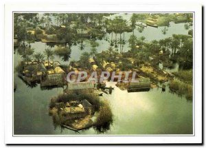 Postcard Modern Iraq Maadans the Marsh Dwellers