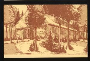 Sharon, New Hampshire/NH Postcard, Sharon Arts Center, Drawing, #2