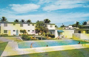 Florida Fort Lauderdale Jolly Shores Apartment Hotel and Swimming Pool