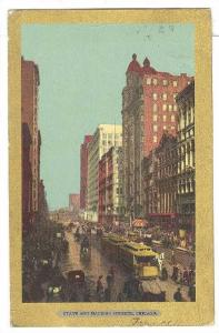 State and Madison Streets, Chicago, Illinois, 1900-1910s