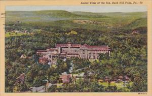 Aerial View Of The Inn Buck Hill Falls Pennsylvania 1943