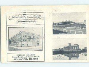 Pre-Chrome COLLEGE SCENE Springfield Illinois IL AG7772
