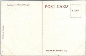 Canton, Ohio Postcard AUDITORIUM Building / Street View Bicycles c1910s Unused