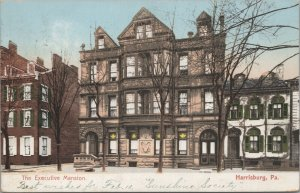 The Executive Mansion Vintage Postcard -Published by the American News Co.