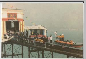 Essex; Southend On Sea Pier, Dedication Of Lifeboat PPC, Unused, Lynn Tait 1988