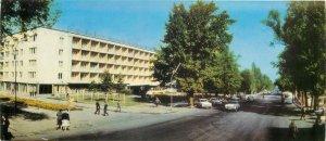 Postcard Kazahstan Almaty Alma-Ata Kazakhstan hotel