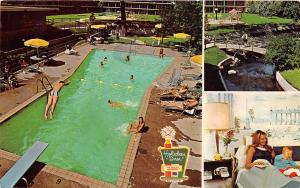 SOUTH BEND INDIANA HOLIDAY INN MOTEL~MULTI IMAGE~TPK EXIT 8 US HWY 31 POSTCARD