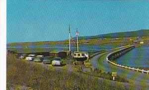 Canada Nova Scotia Margaree Harbour The Paul Pix Shop And Marion Elizabeth Re...
