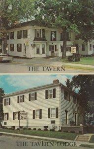 NEW WILMINGTON, Pennsylvania, 1940-60s; The Tavern & Tavern-Lodge