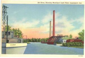 Linen of Eel River & Light Plant Logansport Indiana IN
