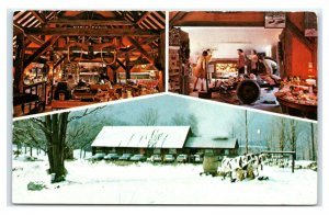 Postcard Summit Sugar House & Gift Barn, Westmoreland NH E20