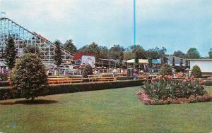 Cincinnati Ohio~Roller Coaster at the Mall at Coney Island 1950
