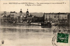 CPA Neuville-sur-Saone - Vue Panoramique a Raccordement No. 2 (1036353)