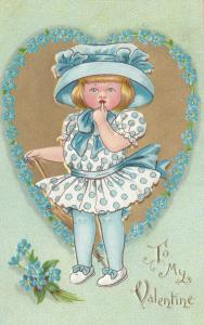 VALENTINE'S DAY: TUCK DAINTY DIMPLES Series No.3 , 1910, # 3