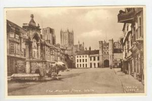 Street & Market Place / Wells,Somerset,England,UK 1910-20s