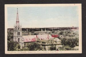PQ Cathedral THREE RIVERS QUEBEC CANADA Postcard QC Carte Postale