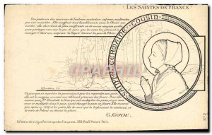 Postcard Old Surname The holy of France Germaine Cousin