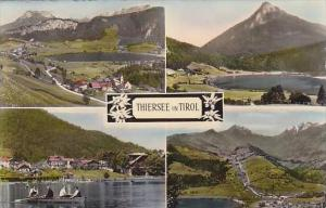 Austria Tirol Thiersee Multi View Real Photo