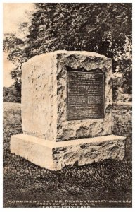 Connecticut  Jewett City ,Monument to Revolutionary Soldiers