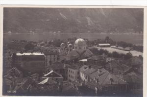 RP: Kotor , Montenegro , air view #2 , 1910-30s