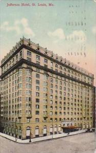 Missouri St Louis Jefferson Hotel 1913