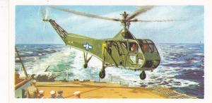 Trade Card Brooke Bond Tea History of Aviation black back reprint No 27