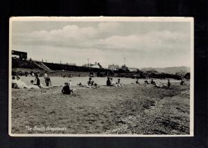 Mint Postcard Ireland County Wicklow Beach Bathing Scene Greystones RPPC